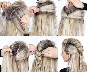 beautiful, peinados, and 😍 image