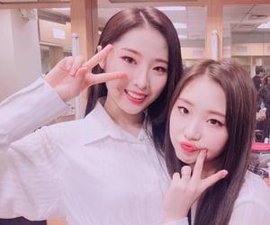 yeojin, haseul, and loona image