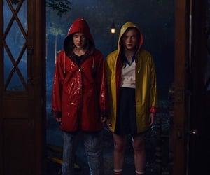 stranger things, eleven, and max image