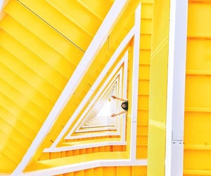 photography, staircase, and stairs image