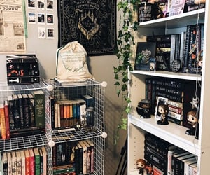 apartment, books, and cozy image