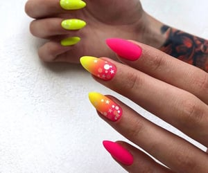 bright, gradient, and lemon image