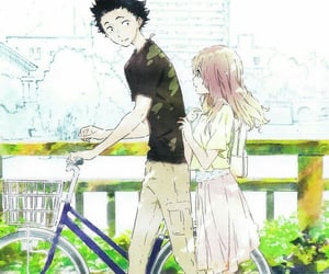 koe no katachi, anime, and cute image