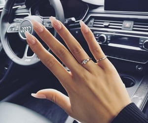 nails, fashion, and car image