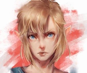 fanart, game, and link image