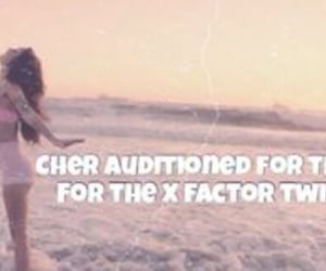 fact, cher lloyd, and x factor image