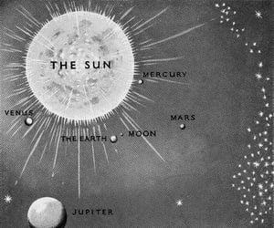 moon, space, and Venus image