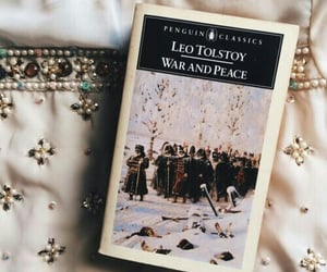 aesthetic, book, and leo tolstoy image