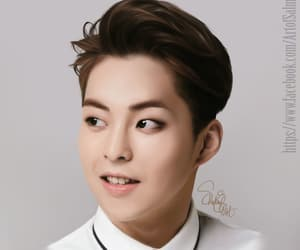exo, kpop, and xiumin image