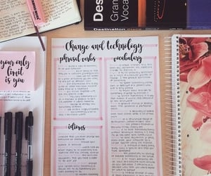 study, aesthetic, and notes image