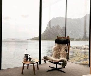 interior, home, and sea image