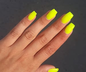 beautiful, nails, and neon image