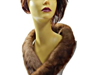collar, etsy, and fur image