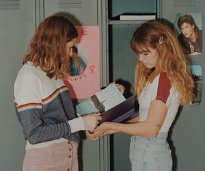 girl, vintage, and 90s image