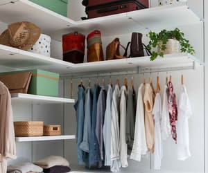 bags, bedroom, and closet image