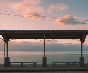 aesthetic, beach, and pastel image