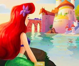 disney, princess, and mermaid image