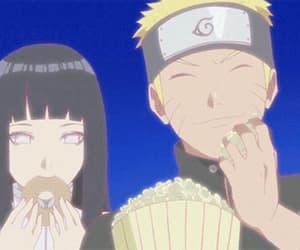 anime girl, gif, and couple image