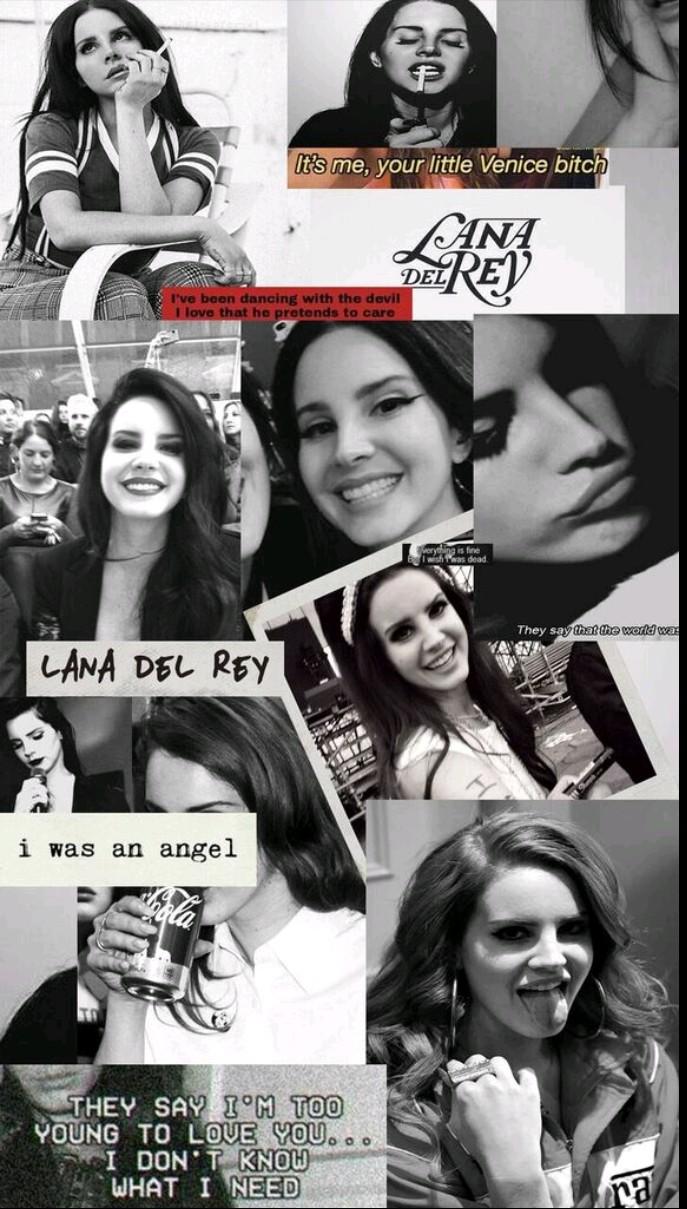 Lana Del Rey Wallpaper Edit By Mel Ballesteros
