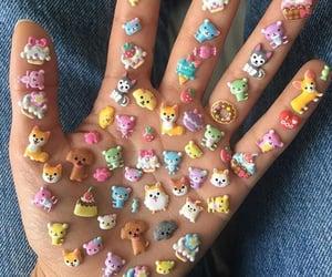 sticker, hand, and animal image