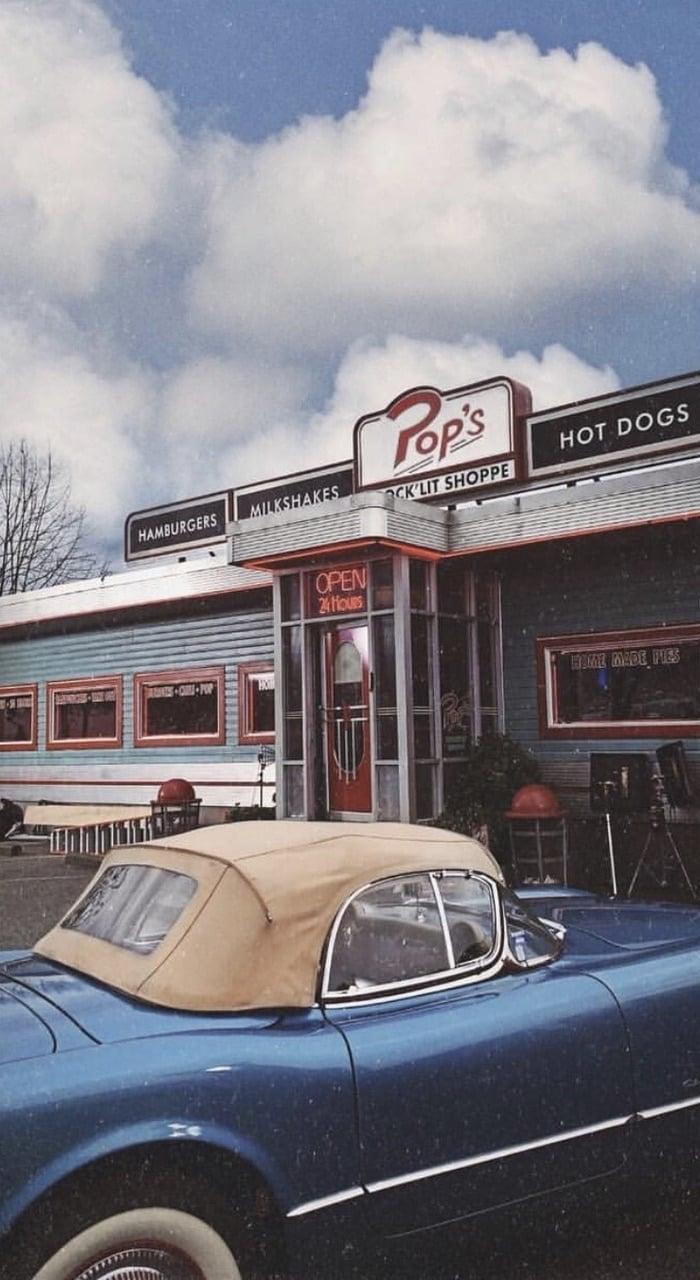 vintage, wallpaper, and riverdale image