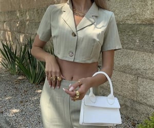 aesthetic, bags, and dressing image