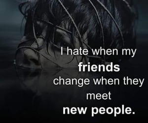 quotes, sad quote, and fake friends image