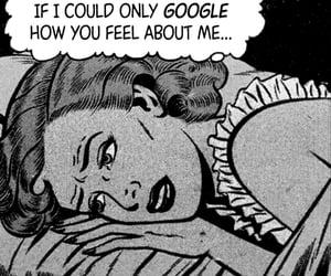 love, comic, and google image