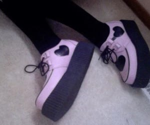 creepers, grunge, and pink image