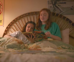 stranger things, millie bobby brown rp, and sadie sink image