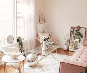 aesthetic, girly, and gold image