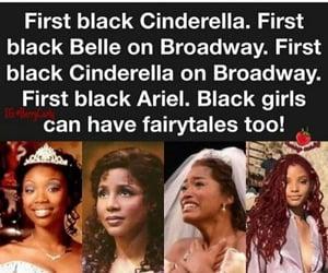 disney, fairytales, and black girl magic image
