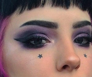 goth, makeup, and aesthetic image
