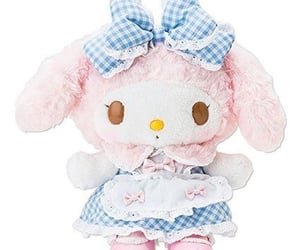 pink, my melody, and sanrio image