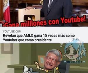 meme, amlo, and presidente image