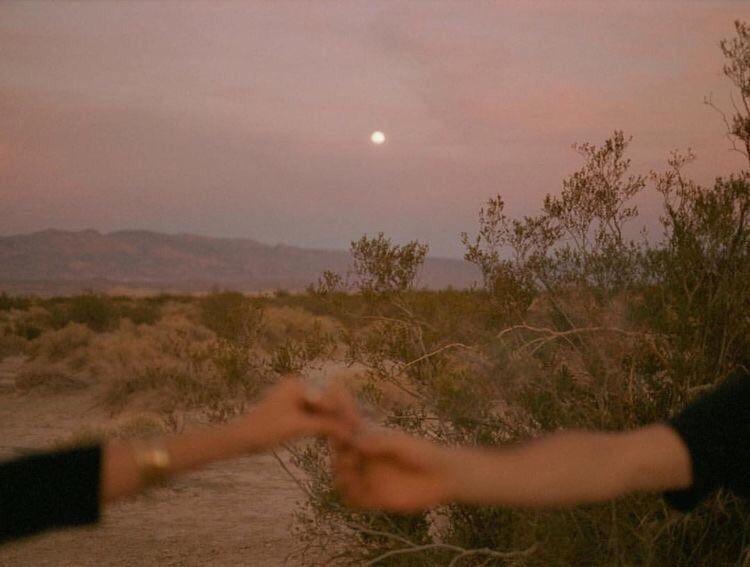 aesthetic, desert, and sky image