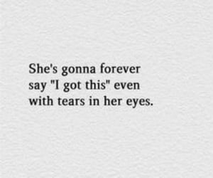 quotes, eyes, and sadness image