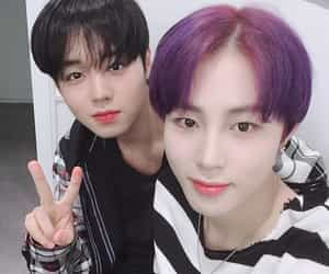 jihoon, wanna one, and sungwoon image