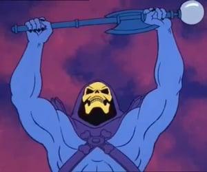 80s, cartoon, and he-man image