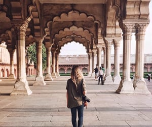 agra, architecture, and cities image