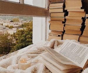 books, cozy, and autumn image
