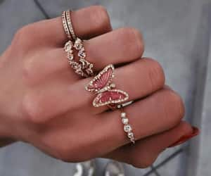 rings, butterfly, and style image