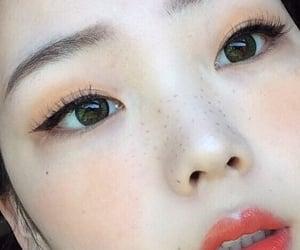 girl, asian, and makeup image