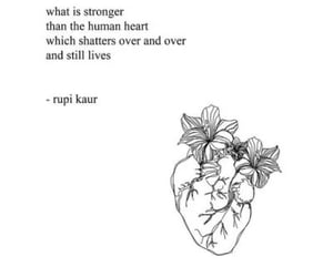 heart and quote image