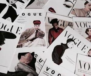 vogue, fashion, and magazine image