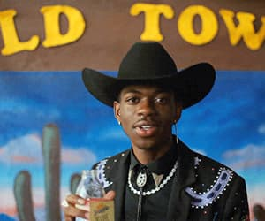 black, cowboy, and lil image