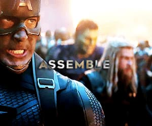 captain america, Marvel, and endgame image