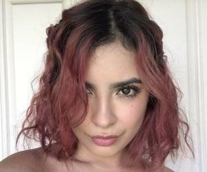 girl, pink hair, and short hair image