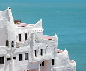 aesthetic, blue, and Greece image