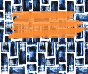 background, orange, and blue image